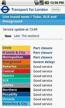 London Travel Updates Live poster