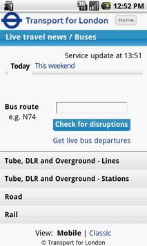London Travel Updates Live screenshot 1