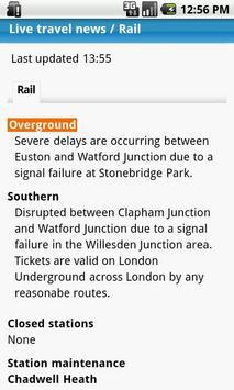 London Travel Updates Live screenshot 5