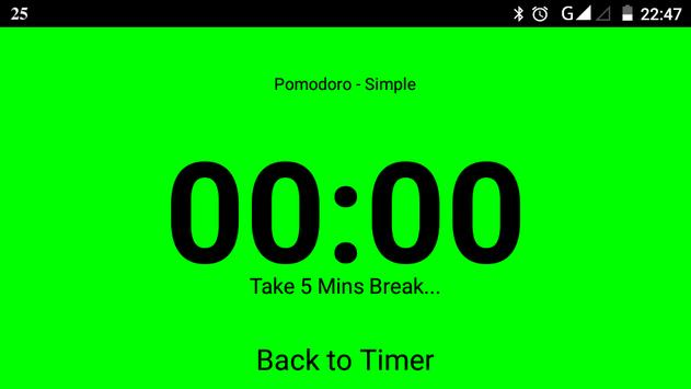 Pomodoro Simple screenshot 1