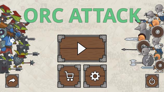 Orc Attack poster