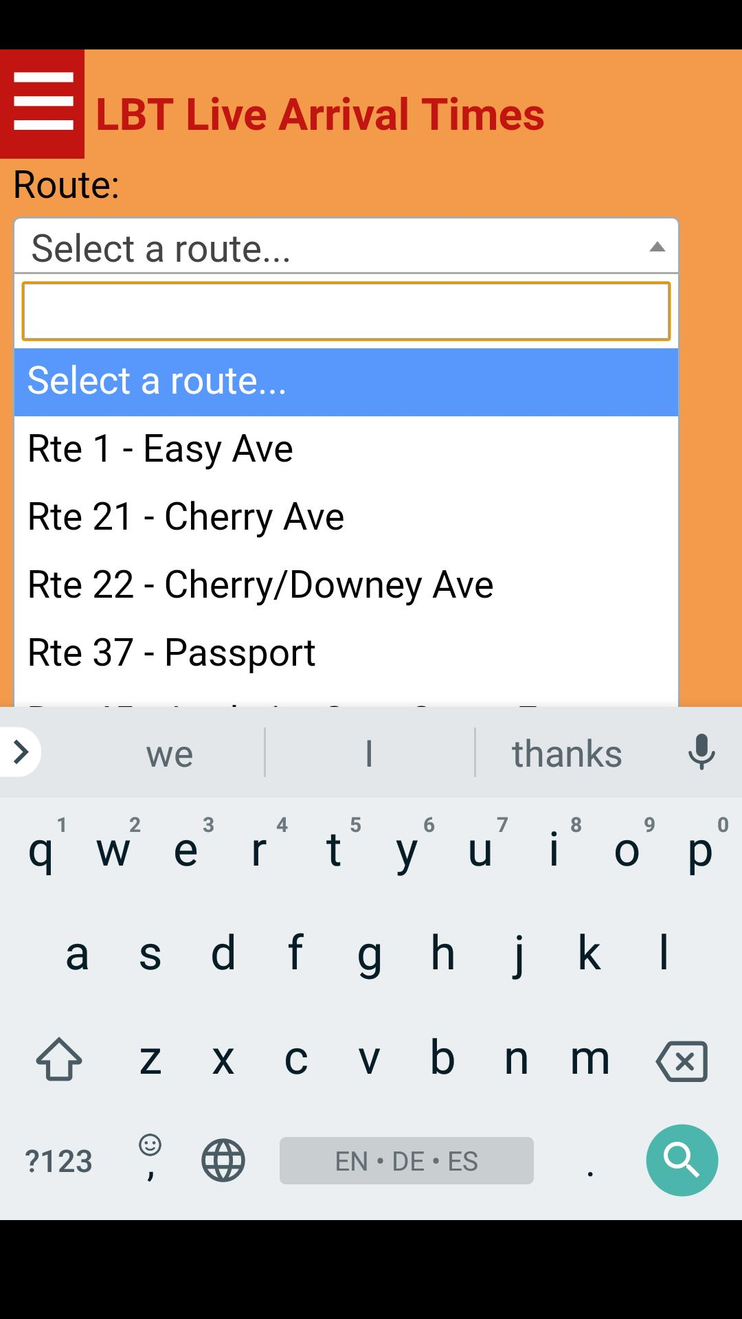 Long Beach LBT Bus Tracker for Android - APK Download