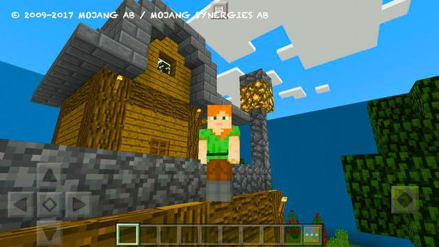 Try Find Button. MCPE map screenshot 7