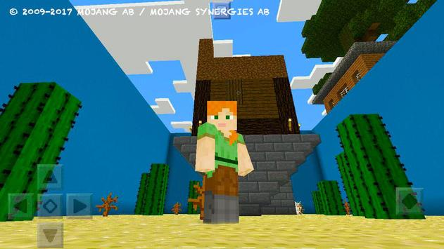 Try Find Button. MCPE map screenshot 20