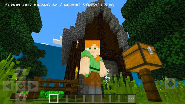 Try Find Button. MCPE map screenshot 2