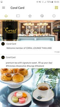 Coral Card apk screenshot