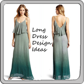 Long Dress Design Ideas icon