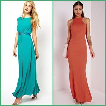 Long Dress Design Ideas apk screenshot