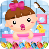 Little Babies Coloring Book icon