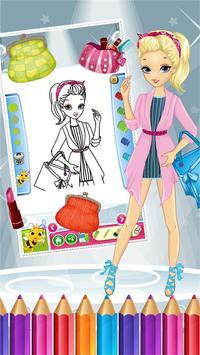 Pretty Girl Fashion Colorbook screenshot 6