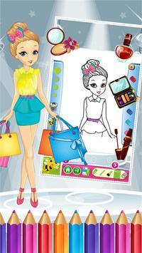 Pretty Girl Fashion Colorbook screenshot 14