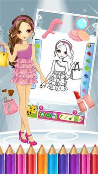Pretty Girl Fashion Colorbook screenshot 2