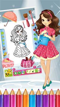 Pretty Girl Fashion Colorbook screenshot 3