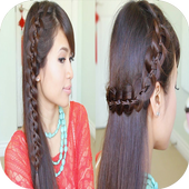 Long Hairstyle Tutorials icon
