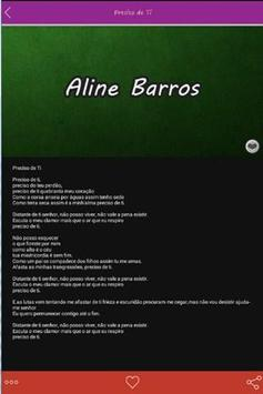 Top Aline Barros Letras apk screenshot