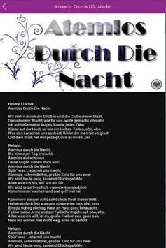 Top Helene Fischer Songtexte apk screenshot
