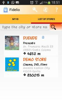 FidelioClient screenshot 1