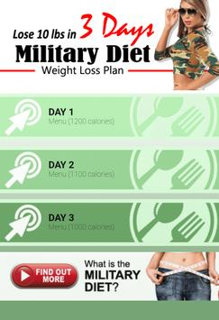 Amazing Military Diet poster