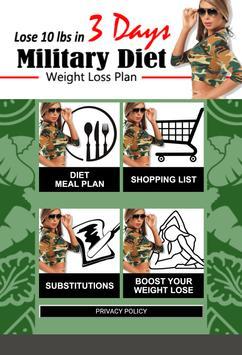 Amazing Military Diet screenshot 1