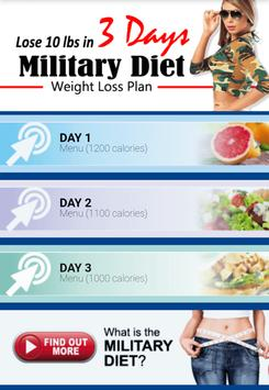 Amazing Military Diet screenshot 1