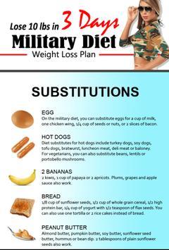 Amazing Military Diet screenshot 3