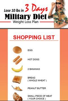 Amazing Military Diet screenshot 4
