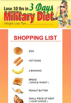 Amazing Military Diet screenshot 4