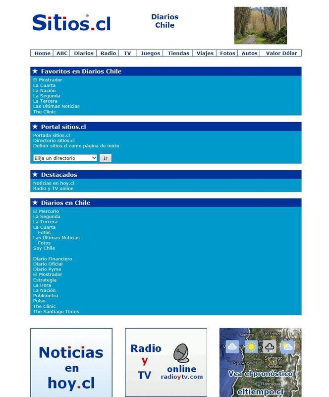 sitios.cl für Android - APK herunterladen