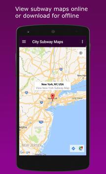 City Subway Maps screenshot 5