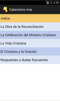 Catecismo mia apk screenshot