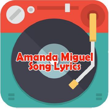 Amanda Miguel Song Lyrics poster