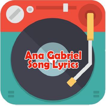 Ana Gabriel Song Lyrics poster