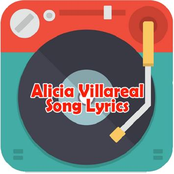 Alicia Villareal Song Lyrics apk screenshot