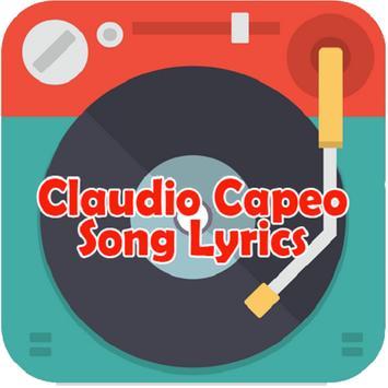 Claudio Capeo Song Lyrics poster