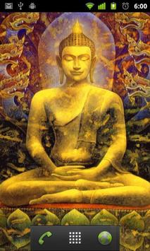 Lord Buddha Live Wallpapers Poster Apk Screenshot