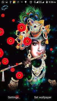 Radha Krishna Live HD 3D Wallpaper スクリーンショット 1