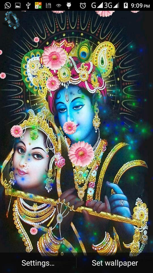 Radha Krishna Live HD 3D Wallpaper for Android - APK Download
