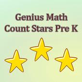 Genuis Math Count Stars Pre K icon