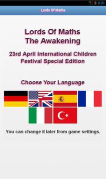 Lords Of Maths-The AwakeningSE poster