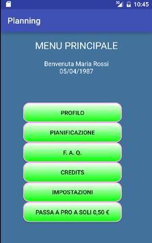 Planning apk screenshot