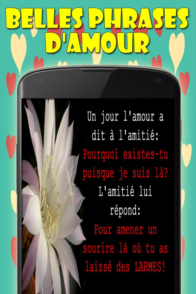 Belles Phrases Damour Citation Damour For Android Apk