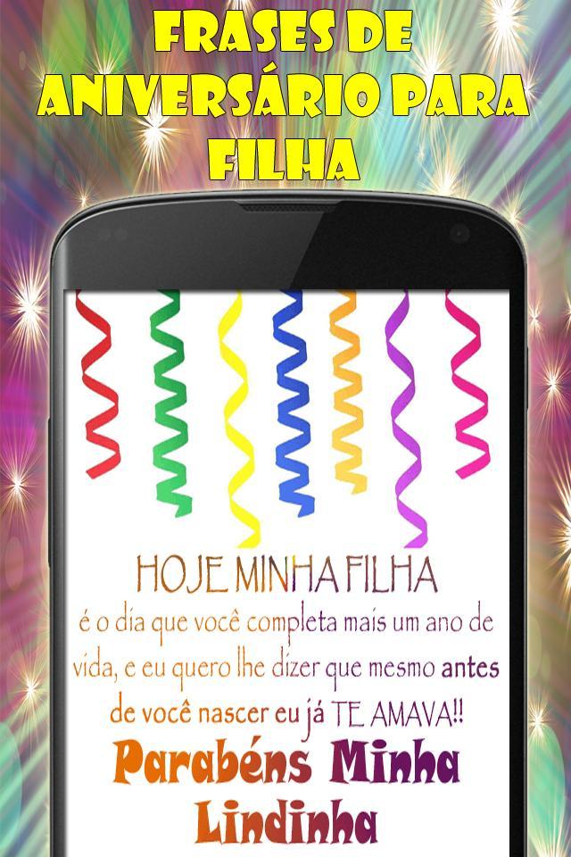 Frases De Aniversário Para Filha For Android Apk Download