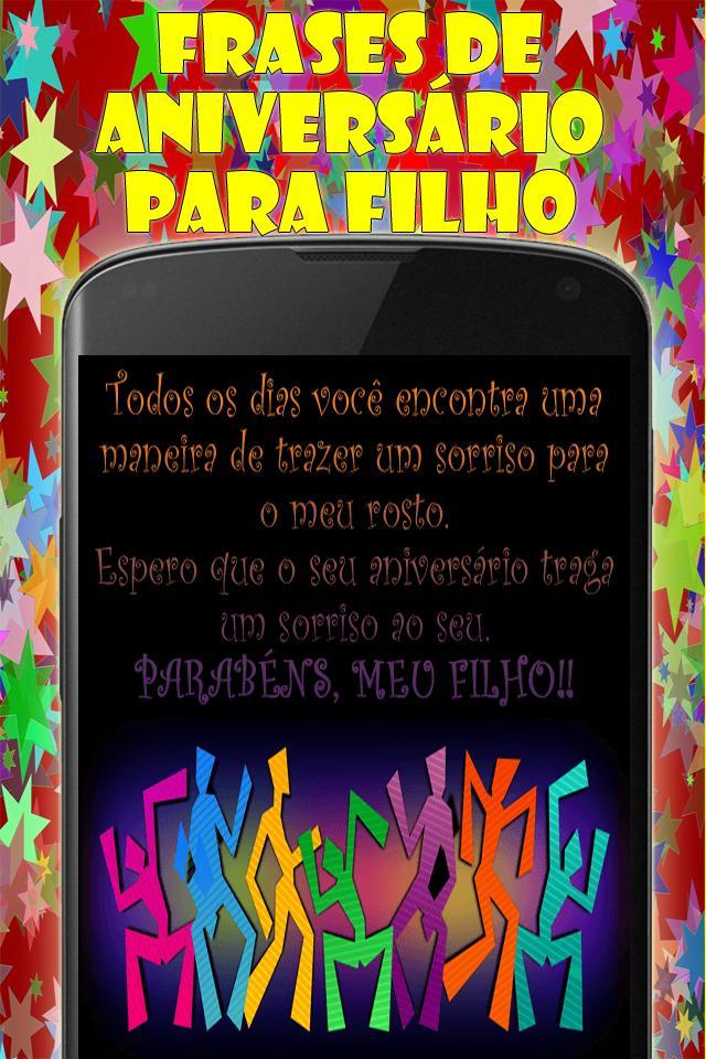 Frases De Aniversário Para Filho For Android Apk Download