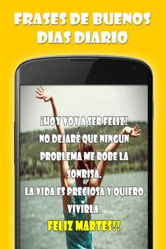 Frases de Buenos Dias Diarias apk screenshot