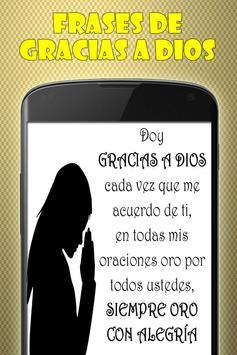 Frases de Gracias a Dios screenshot 1