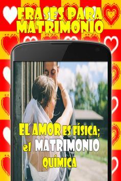 Frases para Matrimonio screenshot 2