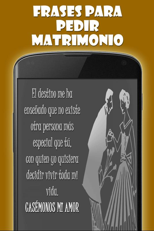 Frases Para Pedir Matrimonio For Android Apk Download