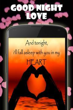 Good Night Love Images apk screenshot