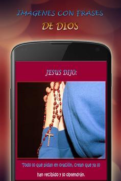 Frases con imágenes de Jesus apk screenshot