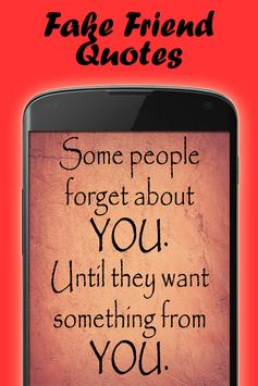 Quotes about fake people poster